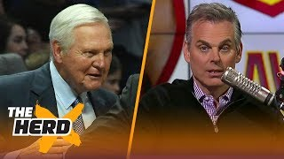 Download Colin Cowherd reacts to Jerry West saying the NBA will 'overtake all the other sports'   THE HERD Video