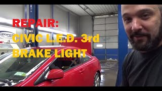 Download Honda Civic LED 3rd Brake Light Video