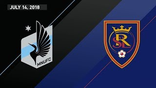Download HIGHLIGHTS: Minnesota United FC vs. Real Salt Lake | July 14, 2018 Video