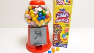 Download Gumball Machine (Dubble Bubble Gum) - Gum Machine ガムボールマシーン Video