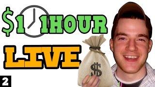 Download 1 Dollar 1 Hour LIVE #2 Video
