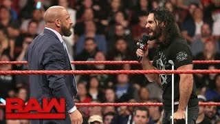 Download Seth Rollins signs Triple H's Hold Harmless Agreement: Raw, March 27, 2017 Video