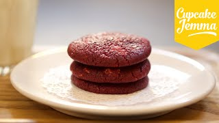 Download Red Velvet & White Chocolate Chip Cookies | Cupcake Jemma Video