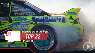 Download LIVE on Network A: Formula Drift Atlanta - Main Event Video
