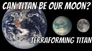Download What If Titan Was a Moon of Earth? Terraforming Titan Video