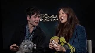Download Ezra Miller Gets Emotional During Interview - Fantastic Beasts 2 Video