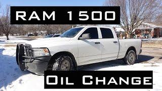 Download RAM 1500 Oil Change | HEMI 5.7L | 2009-2017 Video