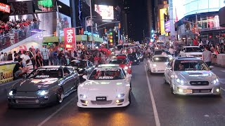 Download SHUTTING DOWN TIMES SQUARE WITH JDM LEGENDS Video