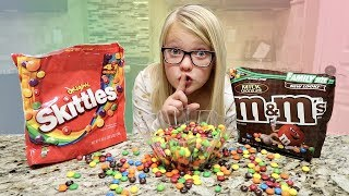 Download M&M AND SKITTLES SWITCH UP PRANK! Video