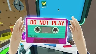 Download FINDING THE TOP SECRET MIX TAPE! - Rick and Morty Virtual Rick-ality VR 2018 Gameplay Video