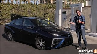 Download 2017 Toyota Mirai Hydrogen Fuel Cell Car Test Drive Video Review Video