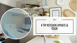 Download DIY - Easy Rental Kitchen Update for a Pinterest Worthy Reveal Video