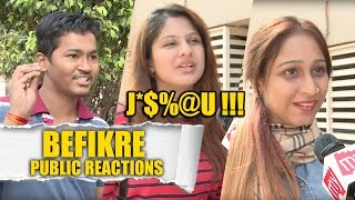 Download Public reactions to Vaani Kapoor - Ranveer Singh's Befikre Video