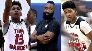 Download 8th Grader Bryce Griggs ″Best Player On Court″ In Elite 16U Game As James Harden Watches! Video