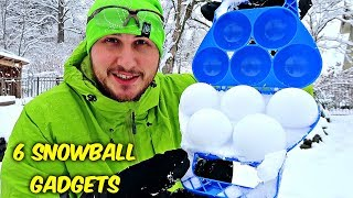 Download 6 Snowball Gadgets put to the Test Video