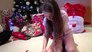 Download Girl cries over Christmas puppy! Video