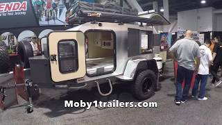 Download Off Road Teardrop Trailer by Moby1trailer at SEMA 2017 Video
