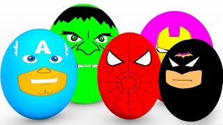 Download Learn Colors SURPRISE EGGS for Babies - Spiderman Cars Educational Video - Bus Superheroes for Kids Video