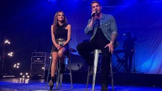 Download Brett Young and Carly Pearce- Whiskey Lullaby Video