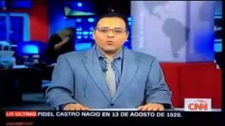 Download Así informó CNN En Español la muerte de Fidel Castro Video