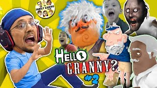 Download HELLO GRANNY in our HOUSE!!! FGTEEV ❤️'s GRANNY BABE! Hello Neighbor Granny's House Mod Game #2 Video
