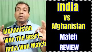 Download India Won The Match But Afghanistan Won The Heart Video