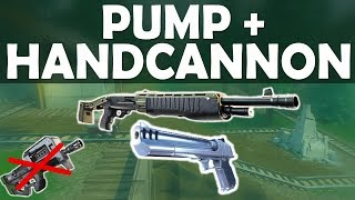 Download PUMP + HANDCANNON | NO SMG CHALLENGE IN SCRIM GAME! INTENSE & FUNNY-(Fortnite Battle Royale) Video