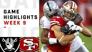 Download Raiders vs. 49ers Week 9 Highlights | NFL 2018 Video