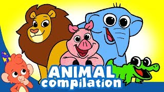 Download Learn Animals for Kids | Land and Sea Animals videos Compilation for Children | Club Baboo Video