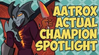 Download Aatrox ACTUAL Champion Spotlight Video