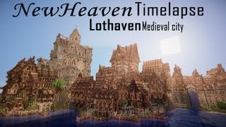 Download Minecraft Timelapse Ep. 3 | Lothaven Medieval City | NewHeaven Video