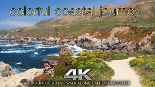 Download 4K ″Colorful Coastal Journey″ Drone Flight & Coastal Walk by Nature Relaxation | DJI Inspire X5 Video