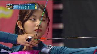 Download 【TVPP】 Tzuyu(TWICE) vs Irene(Red Velvet) - Match of archery goddesses @Idol Championship 2018 Video