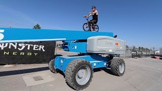 Download RIDING BMX IN A CONSTRUCTION SITE! Video