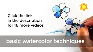 Download Getting Started: Basic Watercolor Techniques Video