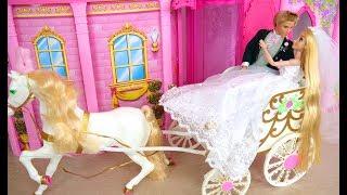 Download Cinderella Princess Wedding Carriage Prinzessin Hochzeitskutsche Voiture de mariage Boneka Putri Video