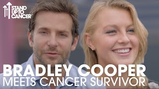 Download Bradley Cooper Catches Up With Ella | Stand Up To Cancer Video