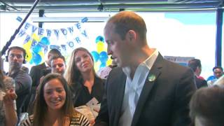 Download Prince William reveals what makes George stop crying Video