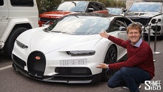 Download A Bugatti Chiron Has Landed in London! Video