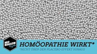 Download Homöopathie wirkt* | NEO MAGAZIN ROYALE mit Jan Böhmermann - ZDFneo Video