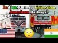 Download Indian railways vs American railways SHOCKING comparison Video