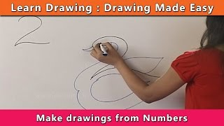Download How to draw using Numbers | Learn Drawing For Kids | Learn Drawing Step By Step For Children Video