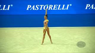 Download AVERINA Dina (RUS) - 2017 Rhythmic Worlds, Pesaro (ITA) - Qualifications Clubs Video
