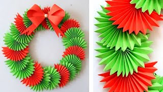 Download DIY Paper Christmas Wreath | Decoration Ideas for Upcoming Christmas by Julia Datta 1411 Video