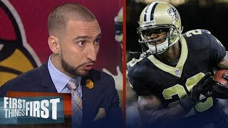 Download Adrian Peterson traded to Arizona - Cris and Nick react | FIRST THINGS FIRST Video