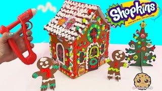 Download Playdoh DohVinci DIY Shopkins Season 4 Petkins Gingerbread Christmas Holiday Craft House Doh Vinci Video