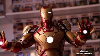 Download NECA 1:4 Scale Iron Man Mark 42 FIGURE REVIEW! IT'S AWESOME Video