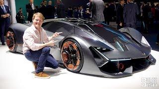 Download Meet the ELECTRIC Lamborghini Terzo Millennio! Video