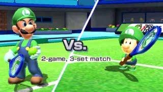 Download Mario Sports Superstars - Tennis - Mushroom & Flower Cup Video
