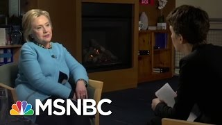 Download Hillary Clinton: GOP Attackers Are Afraid Of Me | Rachel Maddow | MSNBC Video